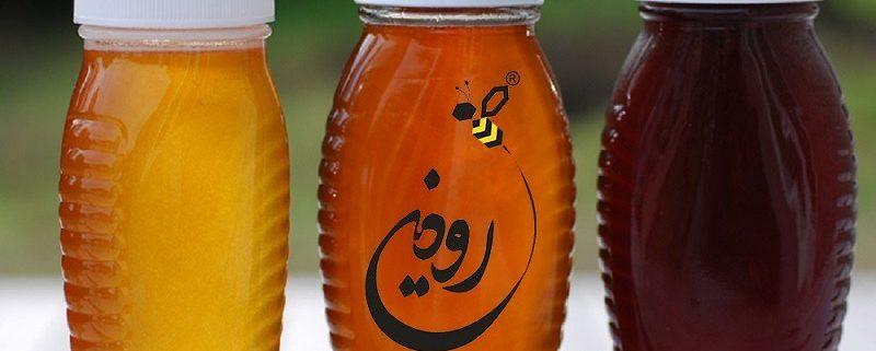 رنگ انواع عسل